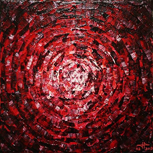 einer rot Schein (20 x 20 cm) ()