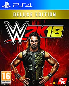 WWE 2K18 Deluxe Edition - Special Limited - PlayStation 4
