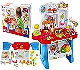 Vivir Super Market Play Set Toys For Kids (Red)