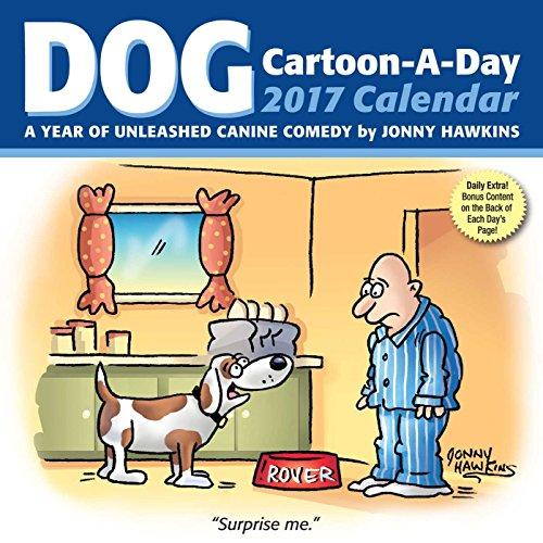 Dog Cartoon-A-Day 2017 Calendar (Daytoday)