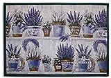 Opera Lavendel gewebte Teppich für Haus, 70x 49cm, mehrfarbig