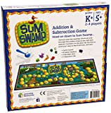 Enlarge toy image: Learning Resources Sum Swamp Addition & Subtraction Game -  preschool activity for young kids