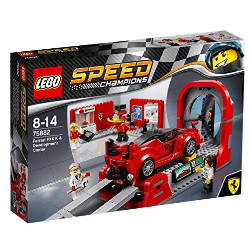 LEGO Speed Champions Ferrari FXX K y Centro de Desarrollo - Juegos de construcción, 8 año(s), 493 Pieza(s), 14 año(s), 4 Pieza(s)