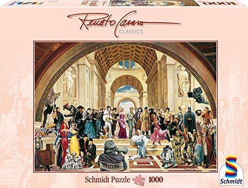 Schmidt Spiele - Renato Casaro, 100 Jahre Film, 1000 Teile Puzzle (Traum-synonyme)