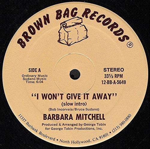 I Won't Give It Away [Vinyl Single 12''] (T-bags Maxi)