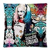 Trendsetter Harley Quinn Suicide Squad Poster Custom Kissenbezüge Werfen Kissenbezug Kissen Fall 18x 18(Zwei Seiten)