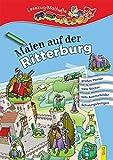 Malen auf der Ritterburg: Lesezug-Malheft