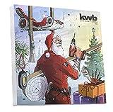 kwb Adventskalender 2017 Limited Edition 370117 (24 Türchen mit hochwertigem Werkzeug, inkl. Tasche, Tischkalender)