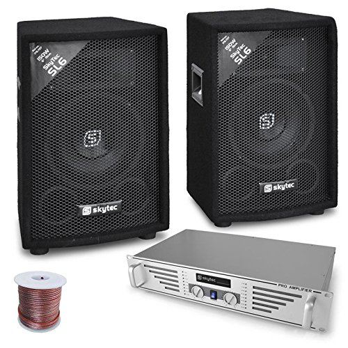 Rookie set DJ amplificatore 2 casse (Completo Dj Kit)