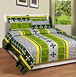 Soni Traders Green Abstract Design Pure ...