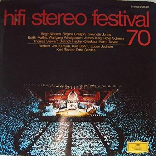 Various - Hifi-Stereo-Festival 70 - Deutsche Grammophon - 2545 001 - 001 Stereo