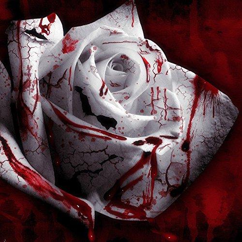 Go Garden 100 Rarest Blanc Sang Rose Plante Fleur Jardin Asaka Rare Rose vrai sang
