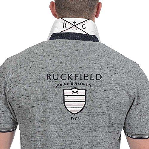 Ruckfield Herren Poloshirt Grau