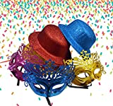 AsianHobbyCrafts Party Hats and Eye Mask...