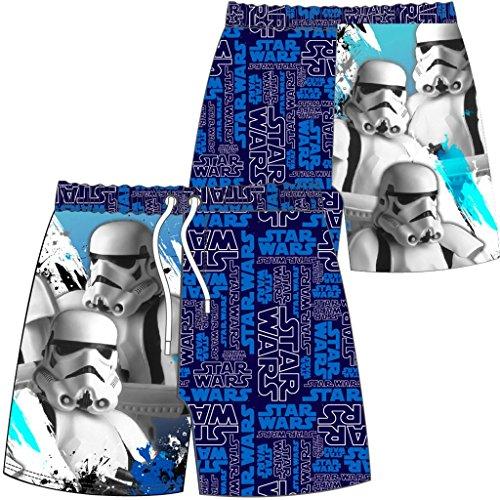 Licensed Boy Star Wars Swim Shorts Trunks Ages 3-10