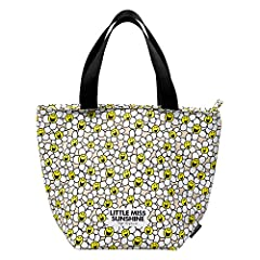 Idea Regalo - Mr Men Little Miss Sunshine laughing margherite lunch bag