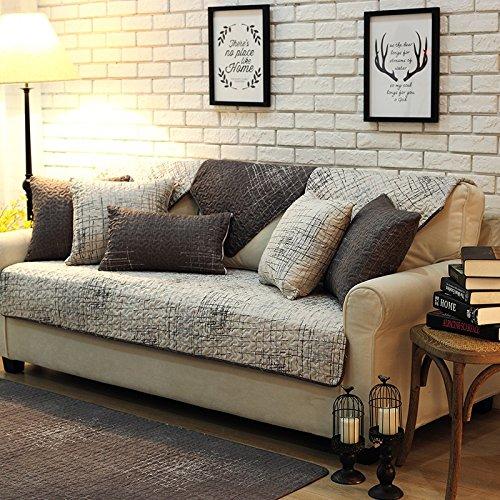 Unimall Sofa Abdeckung Überwurf Sofaschoner Sesselschoner (90 x 160 cm)