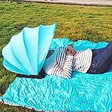 Sonnenschutz Pop-up Strandzelt, Außenstrand Persönlicher Schutzmini Gesichts Schatten PVC Kaltschutz Zelt für Sommer Strandschirm