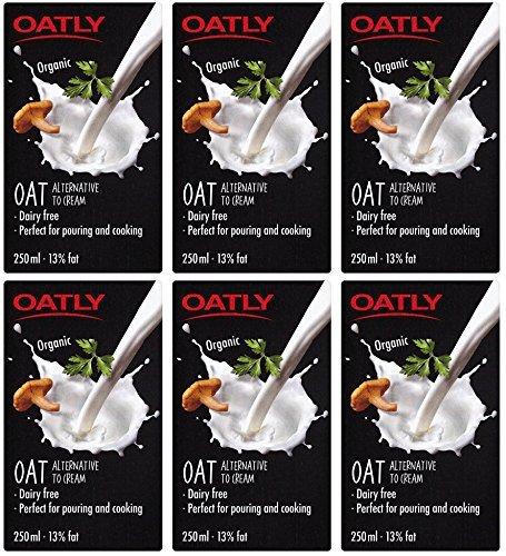 Preisvergleich Produktbild (6 PACK) - Oatly - Oatly Cream / 250ml / 6 PACK BUNDLE by Oatly