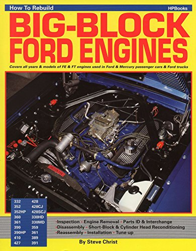How to Rebuild Big-Block Ford Engines (Hpbooks) - Finance Automotive