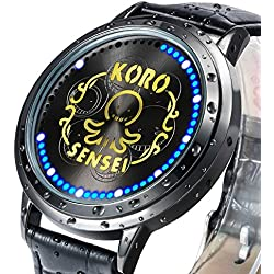 XINGYUNSHI Boys Watch Anime Watches Touch Screen LED Watch Blue Light-934493