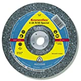 KLINGSPOR A 24 R 36 Rough Grinding Wheel 115 x 6 x 22,23 MM Pack of 10–2488 GEK shape