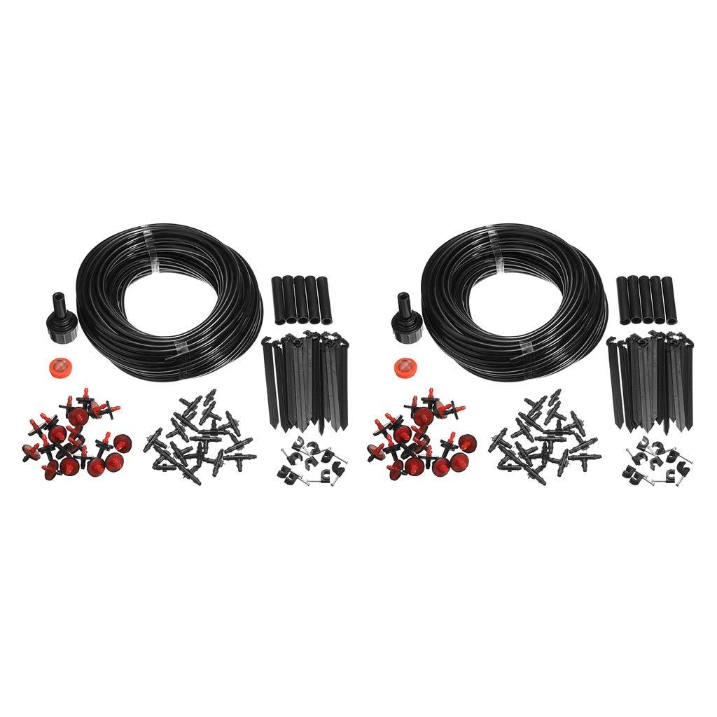 SM SunniMix DIY Bewässerungssystem 40m Bewässerung Kit Micro-Drip-System Garten automatische Bewässerung…