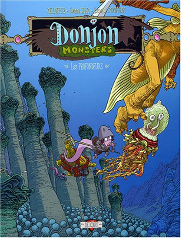 Donjon Monsters, tome 9 : Les Profondeurs