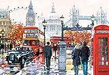 Unbekannt Puzzle 1000 Teile - London Collage - Big Ben - National Gallery - Trafalgar Sq..