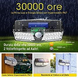 camera da letto dimmerabile per soggiorno alta durata 30.000 ore 3 temperature di colore 30 W 3 livelli di luminosit/à TaoTronics Lampada da terra a LED