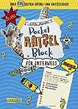 Rätsel für unterwegs: 100% Rätselspaß für deine Tasche (Pocket-Rätsel-Block)