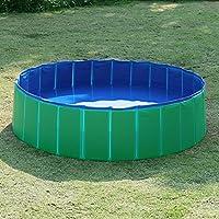 Fuloon Foldable Pet Swimming Pool Bathing Tub Bathtub Dog Cats Washer