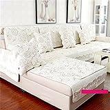 MEHE@ Romantik stilvoll Persönlichkeit kreativ zeitgenössisch Hochwertig Rutschfest Sofakissen Kissen Tuch Schonbezug Sofa Handtuch Sofa-Überwürfe (größe : 70 * 150cm)