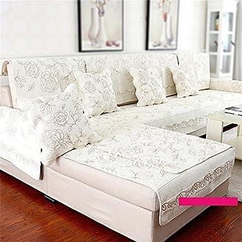 MEHE@ Romantik Stilvoll Persönlichkeit Kreativ Zeitgenössisch Hochwertig  Rutschfest Sofakissen Kissen Tuch Schonbezug Sofa Handtuch Sofa
