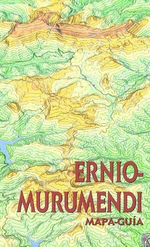 Ernio-murumendi - mapa-guia