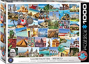 "Eurographics 6000-0767""Globetrotter México Rompecabezas (1000 Piezas)"