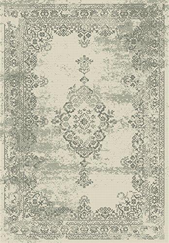Home Life Alfombra con Diseño Vintage, Polipropileno, Beige, 160 x 230 cm