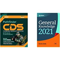 Pathfinder CDS Combined Defence Services Entrance Examination 2020+General Knowledge 2021(Set of 2 Books)