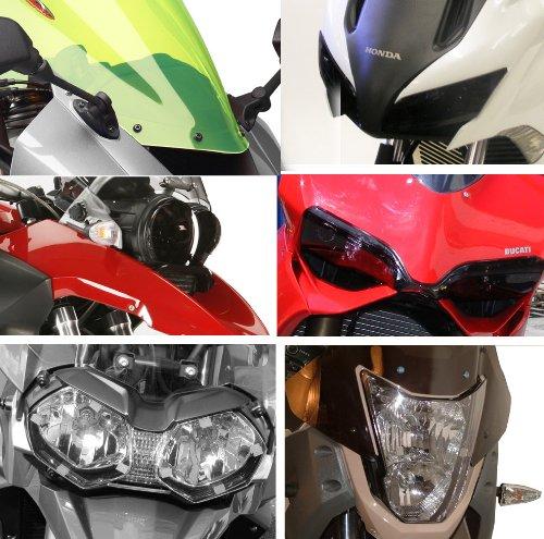"""Preisvergleich Produktbild BMW R80 / 100RT TW / Schock / Mono / R80 / 100 / GS / PD / fluoreszierend grün """"Nicht Road Legal"""" Scheinwerfer Displayschutzfolie"""