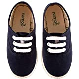 Namoo Kids Lace Sneaker for Boys and Girls, Cotton and Rubber Sole, Baby/Toddler/Kid Shoe