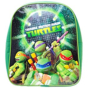 618EgAxpT7L. SS300  - Teenage Mutant Ninja Turtles Mochila infantil BIO-BP300812TNT Verde