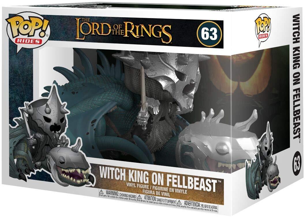 Funko Pop Rey Brujo en Bestia Alada Fellbeast (El Señor de los Anillos 63) Funko Pop El Señor de los Anillos & El Hobbit