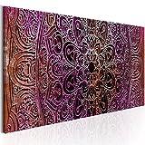 murando Bilder Mandala 150x50 cm - Vlies Leinwandbild - 1 Teilig - Kunstdruck - modern - Wandbilder XXL - Wanddekoration - Design - Wand Bild - Orient Zen f-A-0594-b-b