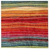 Prezzo Viva Gioia Tappeto, Materiale Sintetico, Multicolore, 200x200x4 cm