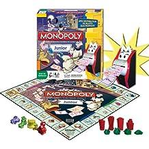 Hasbro 27110 Monopoly Junior - Juego de estrategia electrónico Francés