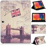 DONZO Wallet City Tablet Tasche für Samsung Galaxy Tab Pro 12.2 P900 P905 Mehrfarbig