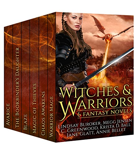 witches-and-warriors-6-fantasy-novels-english-edition
