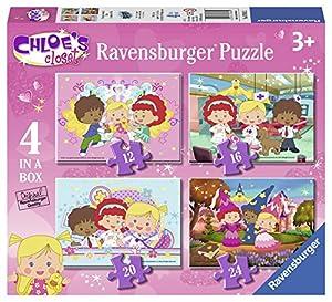 Chloé Paquete de 4 puzzles, en una caja (Ravensburger 07031 2)