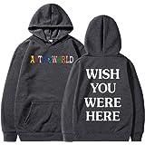 Lettre Mode Hoodie Hommes Astroworld Impression Streetwear Hommes Sweat-Shirt