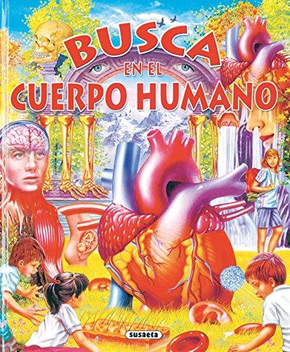 Busca en el cuerpo humano por Equipo Susaeta